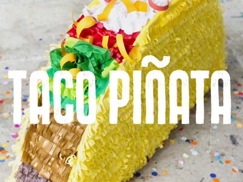Taco Pinata Type By Hayden Davis On Dribbble