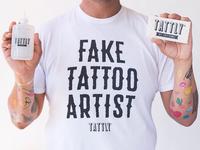Fake Tattoo Artist Shirt