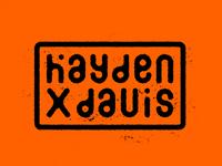 Hayden Davis Logo Concept 1