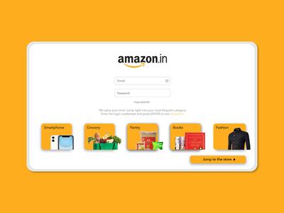 amazon website reshuffle quick ui layout websites redesign rebound website online shopping amazon