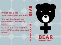 Bear, a novel (take 1)