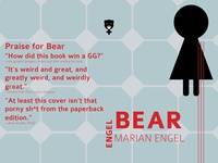 Bear, a novel (take 2)