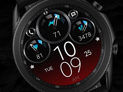 Digital Watch Face galaxywatch3
