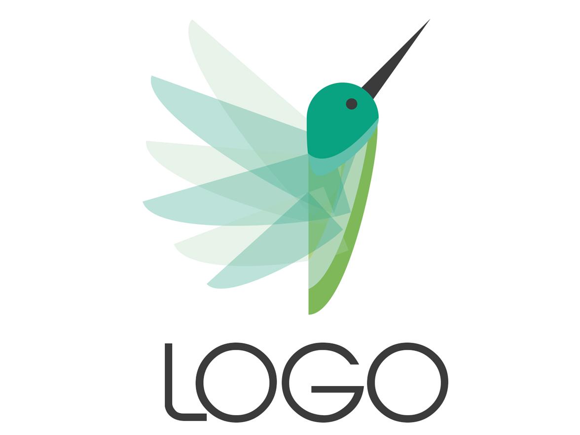 Hummingbird Logo graphic design vector illustrator flat  design fly logo logo tutorial bird logo hummingbird logo flat logo minimal logo bird logo hummingbird