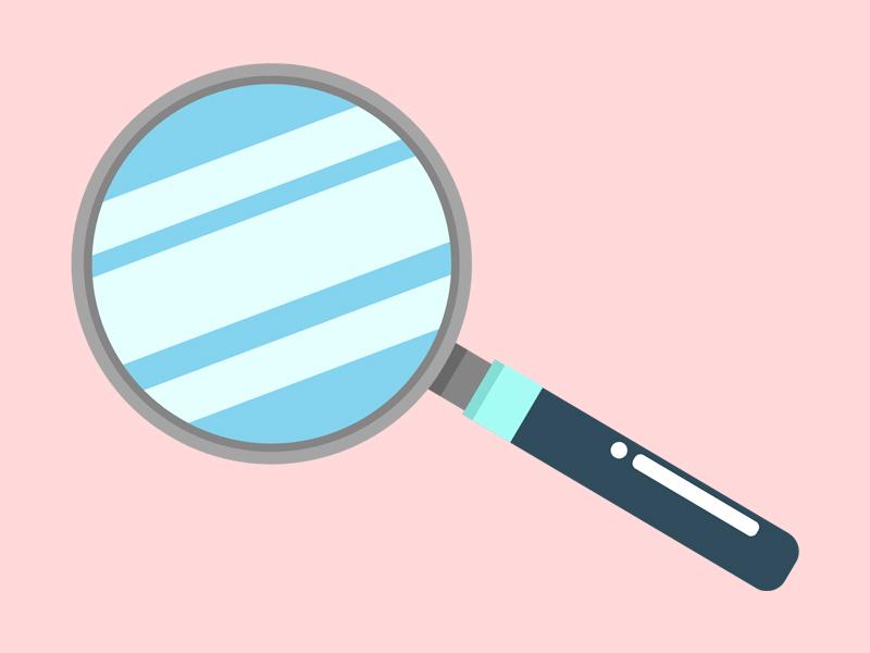Magnifying Glass icon illustrator lupa tutorial graphic tutorial detective illustrator tutorial illustrator tutorial flat design tutorial magnifying glass flat magnifying glass vector