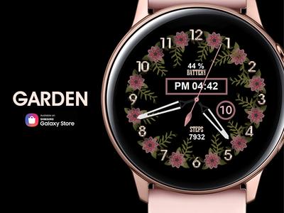Garden - Watch Face