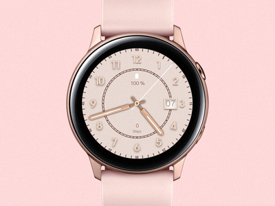 Rose Gold - Watch Face