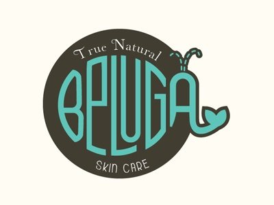 Beluga Skin Care Logo Design