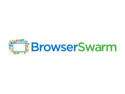 BrowserSwarm logo concept