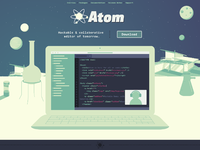 Atom site mock jag 03