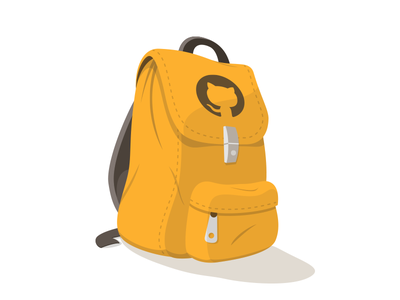 Backpack Concept 3 backpack illustration