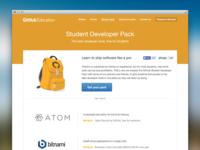 Student Developer Pack design assets