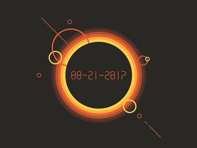 Solar Eclipse t-shirt design t-shirt illustration solar eclipse
