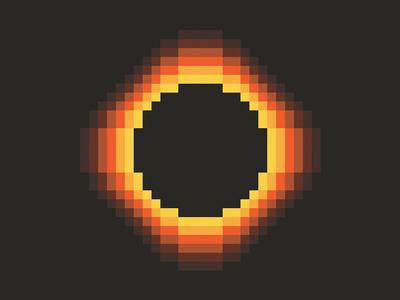 Solar Eclipse t-shirt design t-shirt solar eclipse pixel art illustration pixel