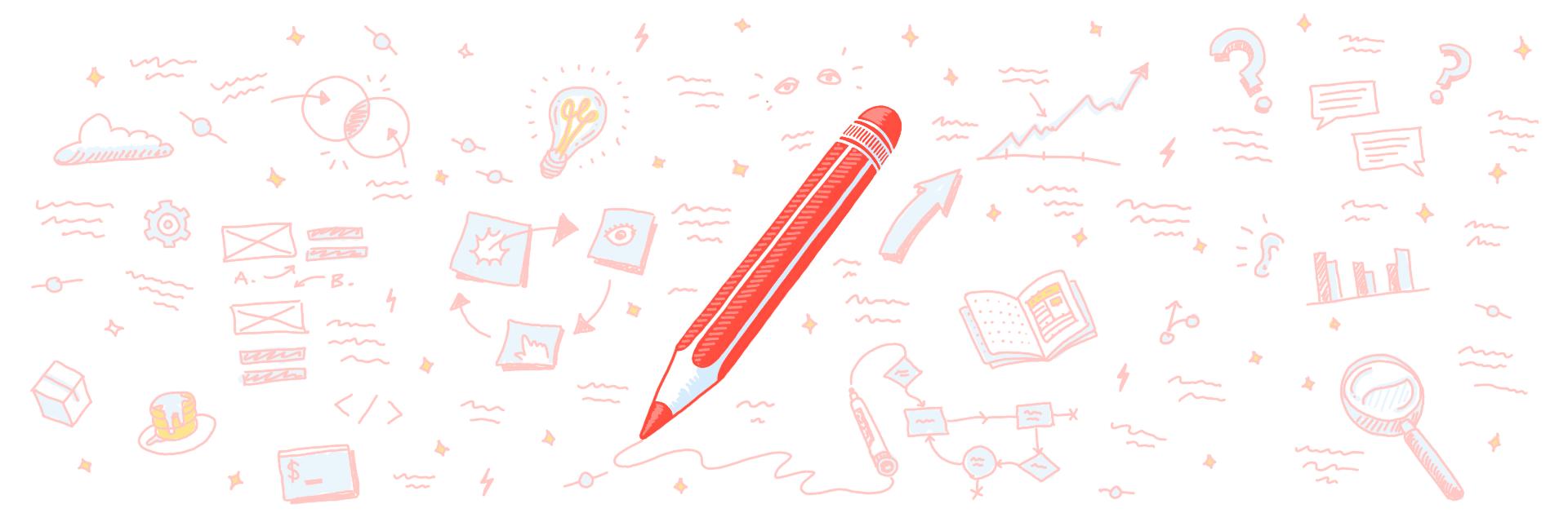 Pencil illustration full