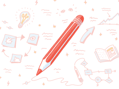 Pencil illustration sketch workflow pencil illustration