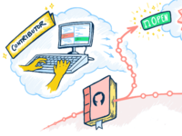 Workflow illustration for personal site case study