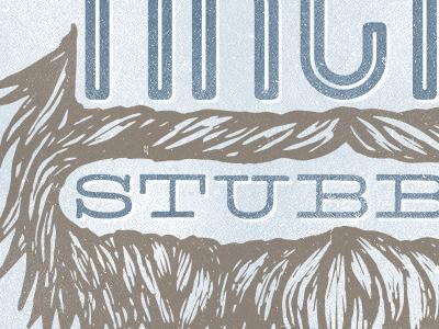 Arctic stubble logo dribbble shot