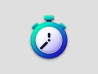 Chronometer apple assets icon skeuomorphism skeuomorph ui art vector design illustration