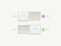 Daily UI - 015 - Switch
