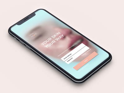 Skinscape: Personalization experience sprint login personalization interaction figma prototype identity user flow card sorting skincare app user experience user interface uiux ux ui