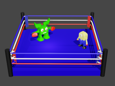 Little Monsters Boxing