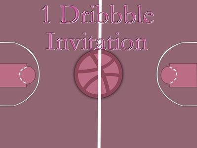 One Dribbble Invite!