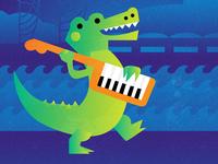 Jazzy Alligator