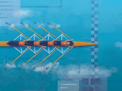 Row Team Blog Illustration