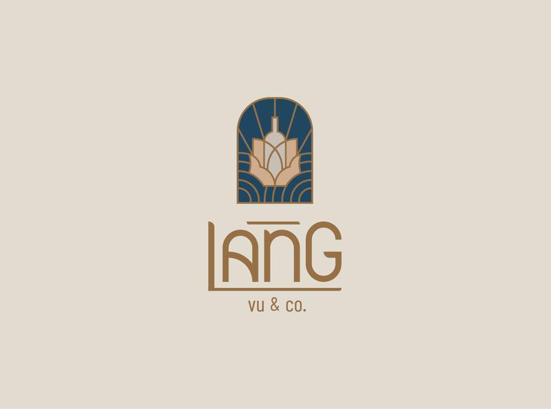 The Quintessence of Vietnamese Craft geometric icon vietnam art logo branding elegant minimal logotype typeface typography illustration concept