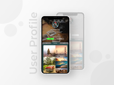 Daily UI: 006 User Profile
