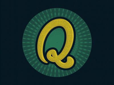 Q q 36days 36daysoftype type design illustration