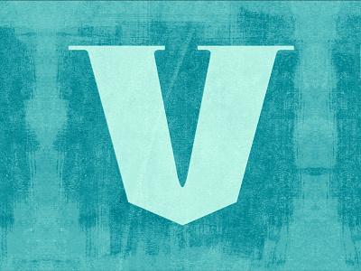 V letter typography latepost 36dayoftype type design illustration