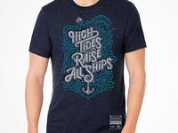 Mens: High Tides Raise All Ships T-shirt
