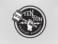 Ten Ton Trading Company logo for Machine Head