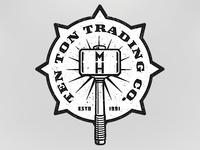 Ten Ton Trading Company logo 2 for Machine Head
