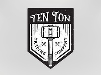 Ten Ton Trading Company logo 4 for Machine Head