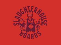 Slaughterhouse Boards: Butcher Logo 2