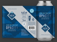 The Glass Jug Beer Lab: How Do You Say Opacity IPA