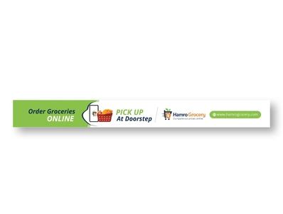 Grocery ad banner grocery store banners branding banner banner design banner ad advertising illustration design app