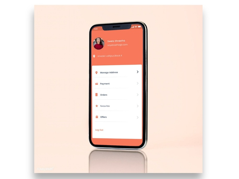 Daily UI challenge (day 6)