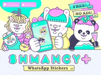 The Shmancy & Friends© Sticker Pack