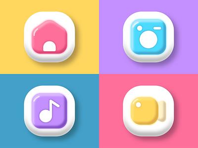 Icons web app design ux ui icon