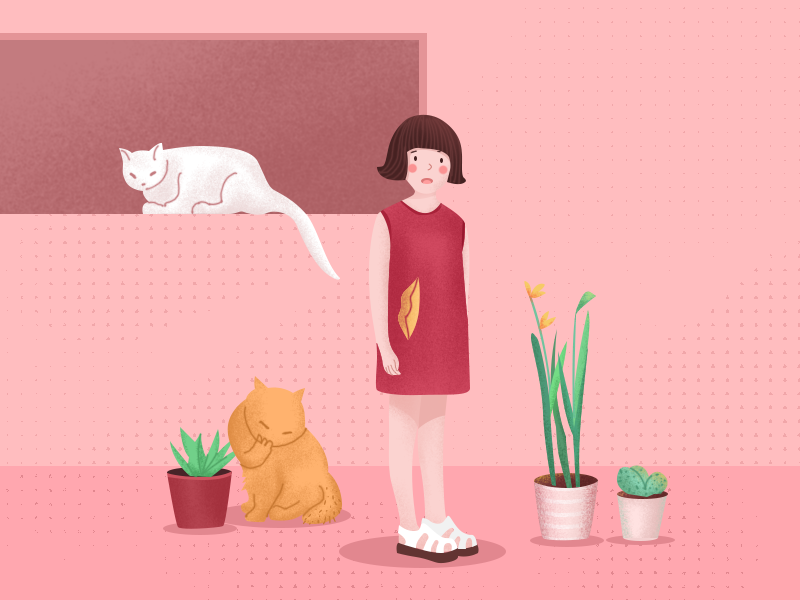 sunny day design ui illustration