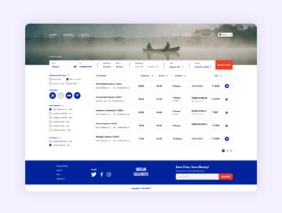 IRCTC Website Re-Design