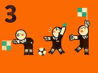 3 Referees