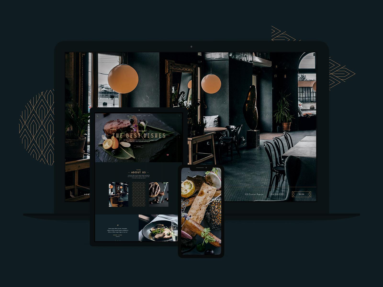 Qode Interactive / Projects / Laurent - Elegant Restaurant Theme | Dribbble