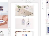 Bolge - Portfolio layouts