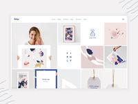 Bolge Portfolio Metro Homepage