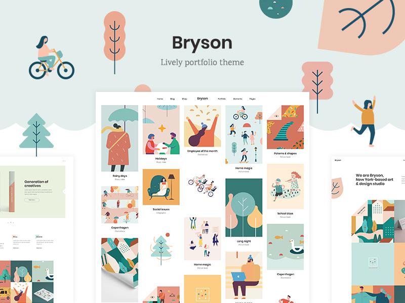Bryson portfolio theme